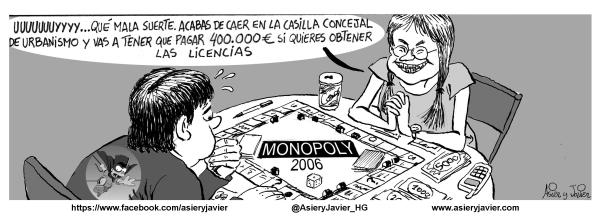 La corrupción política se convierte en algo cotidiano en España