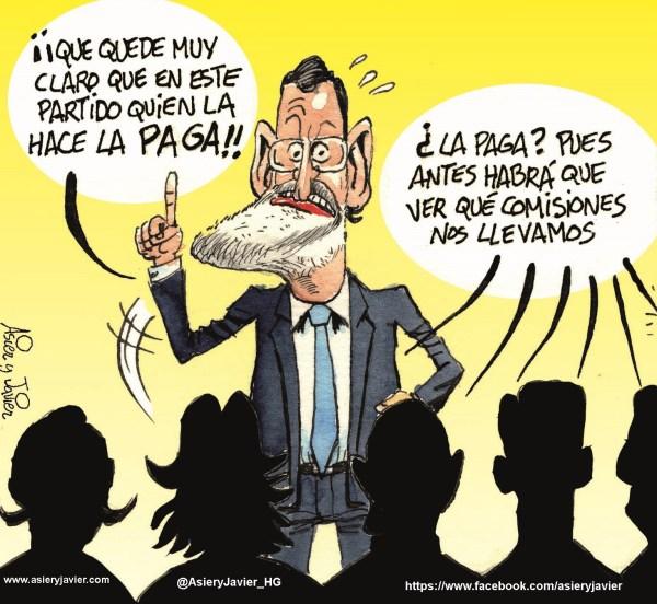 Rajoy será implacable con los casos de corrupción en el PP