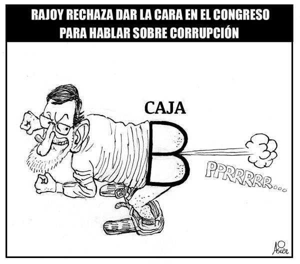 Rajoy se niega a hablar sobre una presunta Caja B en el PP
