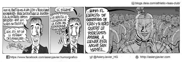 Urrutia teme un San Mamés desangelado para el partido de Copa del Athletic ante el Alcoyano