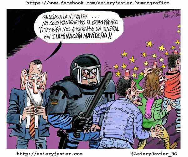 El PP aprueba en solitario la nueva Ley Mordaza