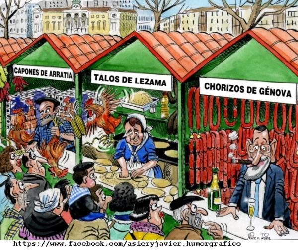 Hoy se celebra el tradicional mercado de productos agrícolas de Santo Tomás en Bilbao