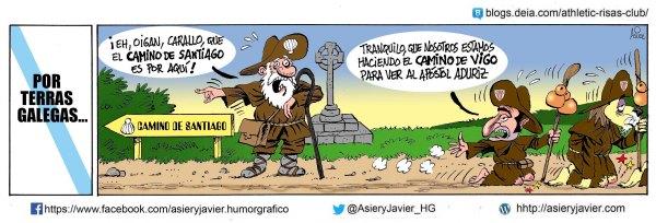 Valverde reza para que el apostol Aduriz se le aparezca al Athletic en el partido de Copa de Balaídos ante el Celta