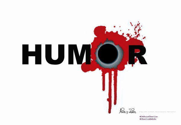 Humor y horror, Charlie Hebdo.