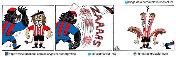 El Barça fue demasiado coco para un Athletic valiente