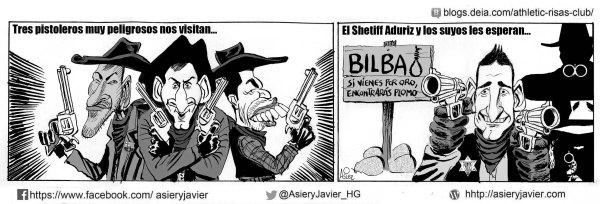 Aduriz, el sherif de San Mamés, espera a los pistoleros del Barcelona