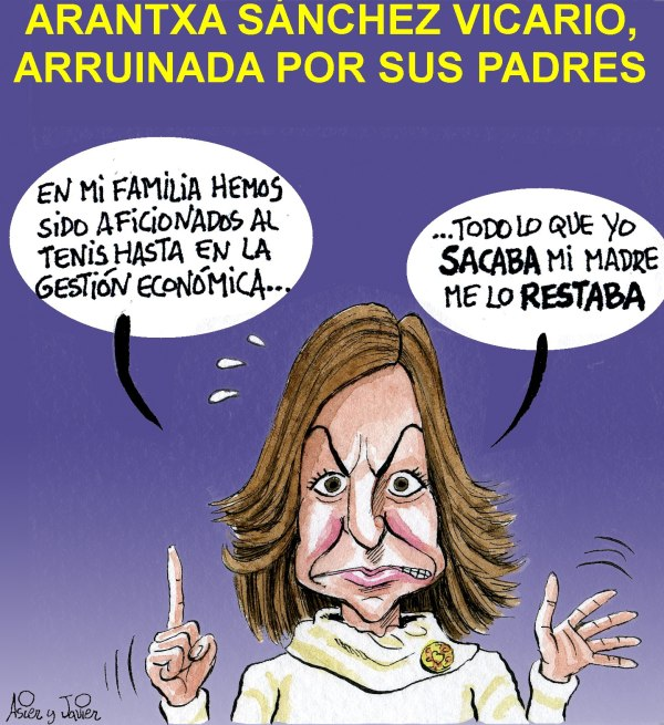 Arantxa Sánchez Vicario vuelve a denunciar a sus padres