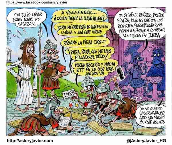 Cómo hubiera sido la Semana Santa si hubiera habido recortes en el imperio romano