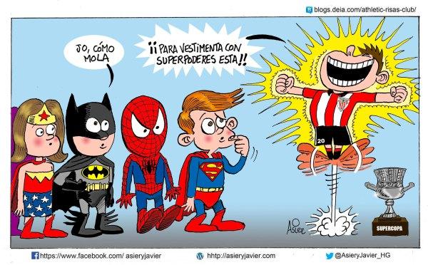 El Athletic de Bilbao, Campeón de la Supercopa, 31 años después y ante el Fútbol Club Barcelona de Messi