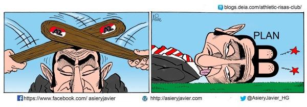 El Plan B del Athletic de Bilbao causa dolores de cabeza a Valverde en el partido de UEFA League ante el AZ Alkmaar