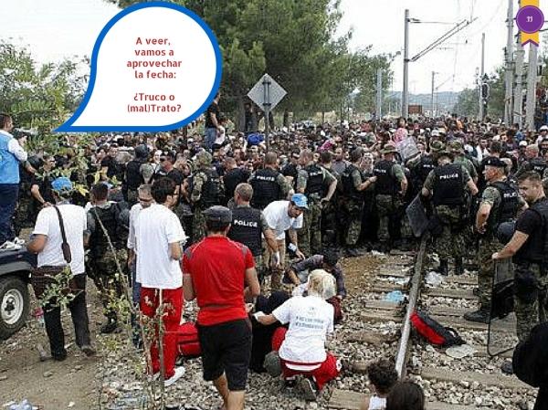 Halloween 2015 en las fronteras de Europa