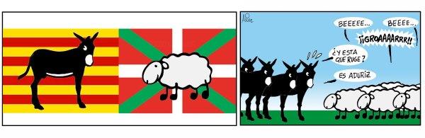 Aduriz también marca en el Catalunya - Euskadi del Nou Camp