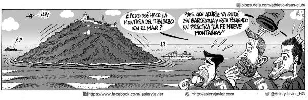 El Athletic llega a Barcelona con una fe capaz de mover montañas coperas