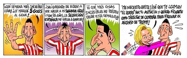 El Athletic visita al Espanyol en Liga con Aduriz convertido en estrella internacional