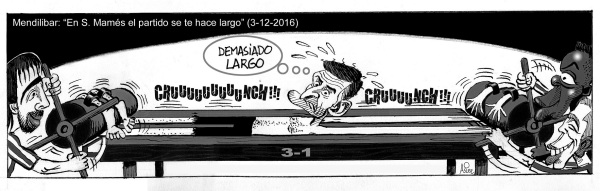 Al Eibar de Mendilibar se le hizo demasiado largo el partido de San Mamés ante el Athletic