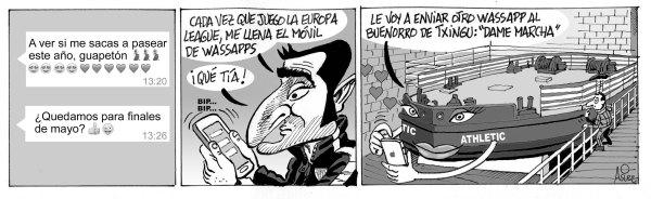 El Athletic recibe al Apoel soñando con sacar la Gabarra