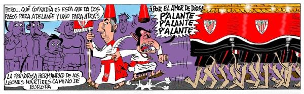 El Athletic recibe a Las Palmas en San Mamés en pleno Viernes Santo