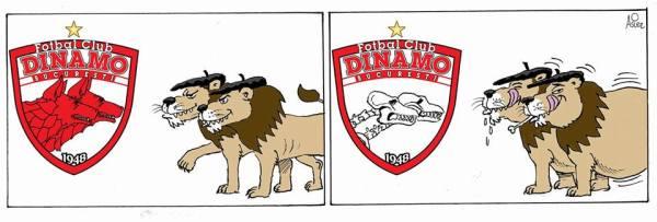 Viñeta: El Athletic se zampó al Dinamo de Bucarest en San Mamés y sigue en UEL