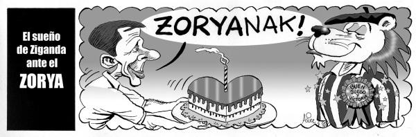El Athletic recibe hoy al Zorya en San Mamés