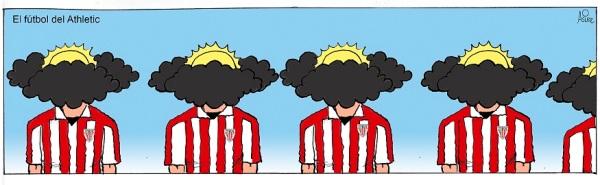 El Athletic se presenta hoy en Riazor con su juego de nubes y claros