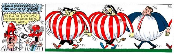 El Athletic coge aire en Liga con su victoria frente al Levante