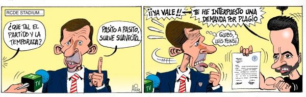 """El Athletic empata ante el Espanyol y sigue mejorando """"pasito a pasito"""""""