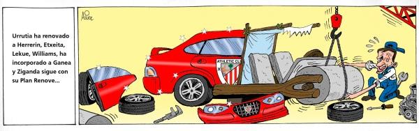 El Athletic del Plan Renove viaja a Getafe en Liga