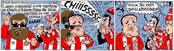 El Athletic disputa en Girona su primer partido tras el fichaje de Iñigo Martínez