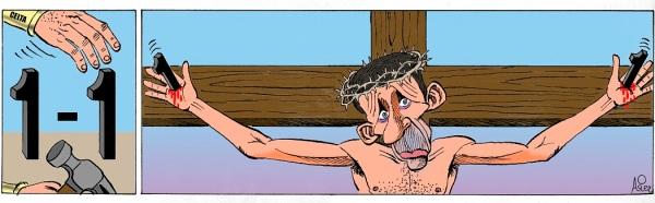 El Celta empata durante el descuento en San Mamés y prolonga la cruz de Ziganda
