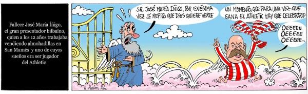 El Athletic gana al Betis en San Mamés y José María Iñigo lo celebra en las alturas
